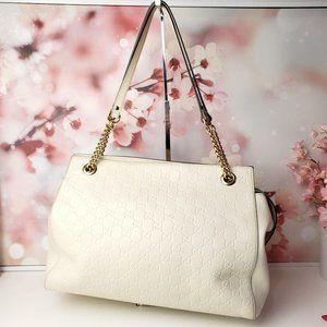 Gucci Guccissima Soft Signature Shoulder Bag Large